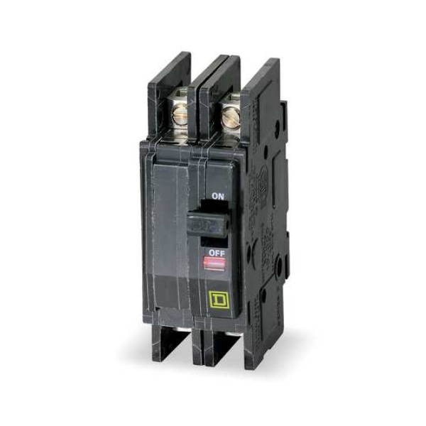 Square D 20a 120 240vac 48vdc Max 2 Pole Surface Or