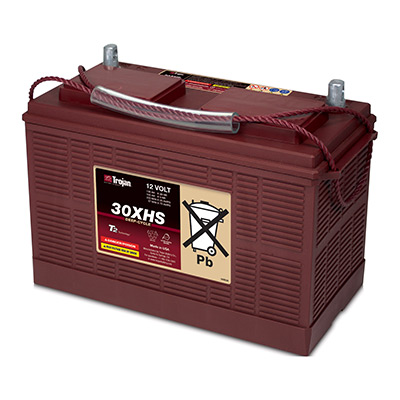 Trojan Battery Company 12v 130ah Wet Flooded 30xhs